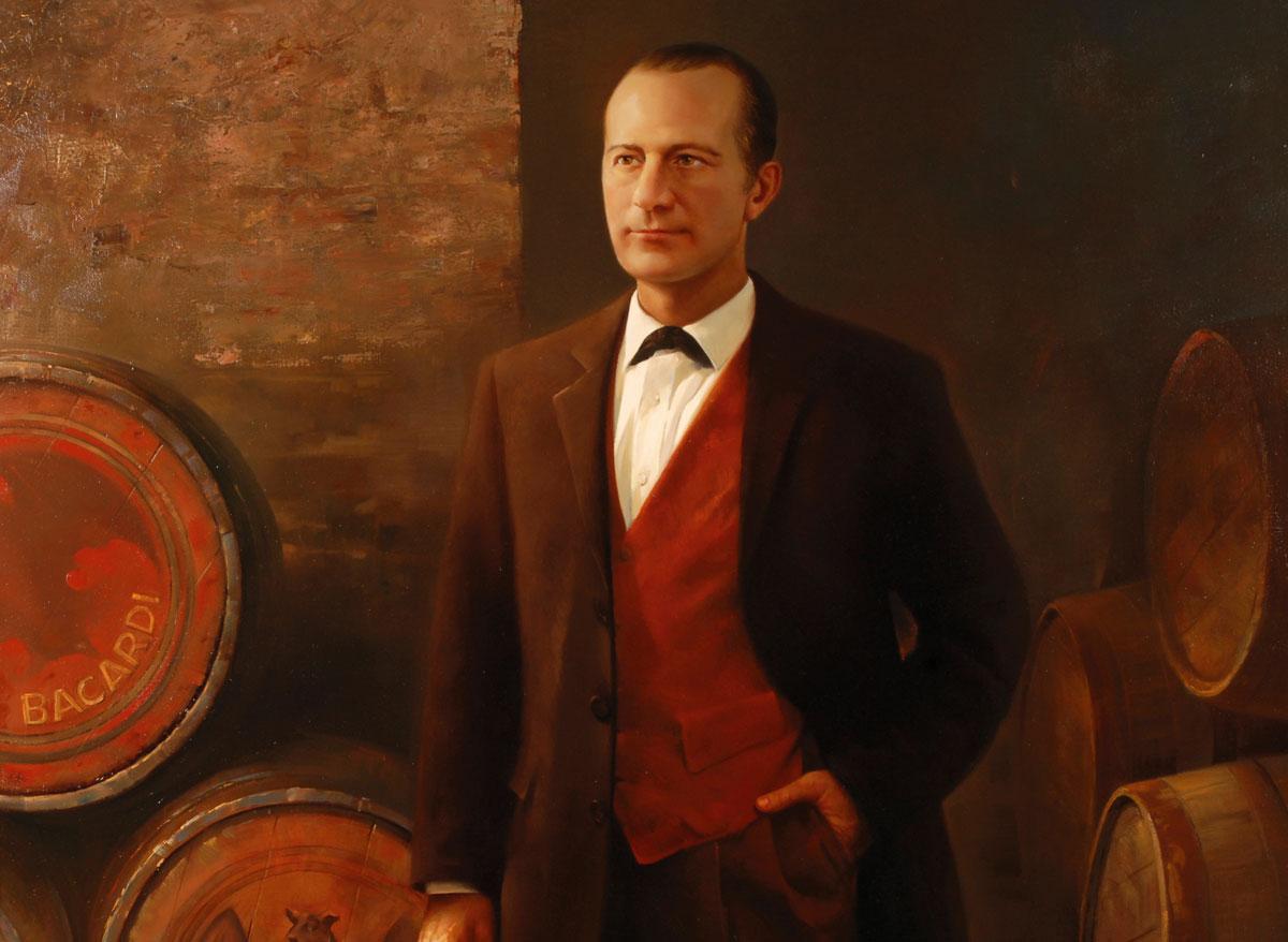 Retrato del fundador, Facundo Bacardí Massó