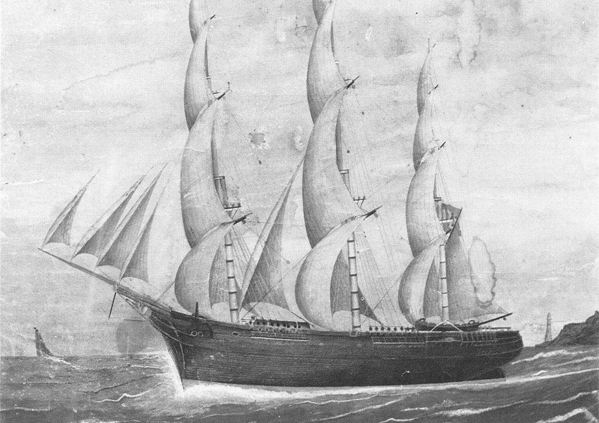 Goleta de 1850
