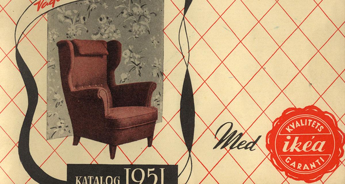 Primer catálogo de IKEA, año 1951