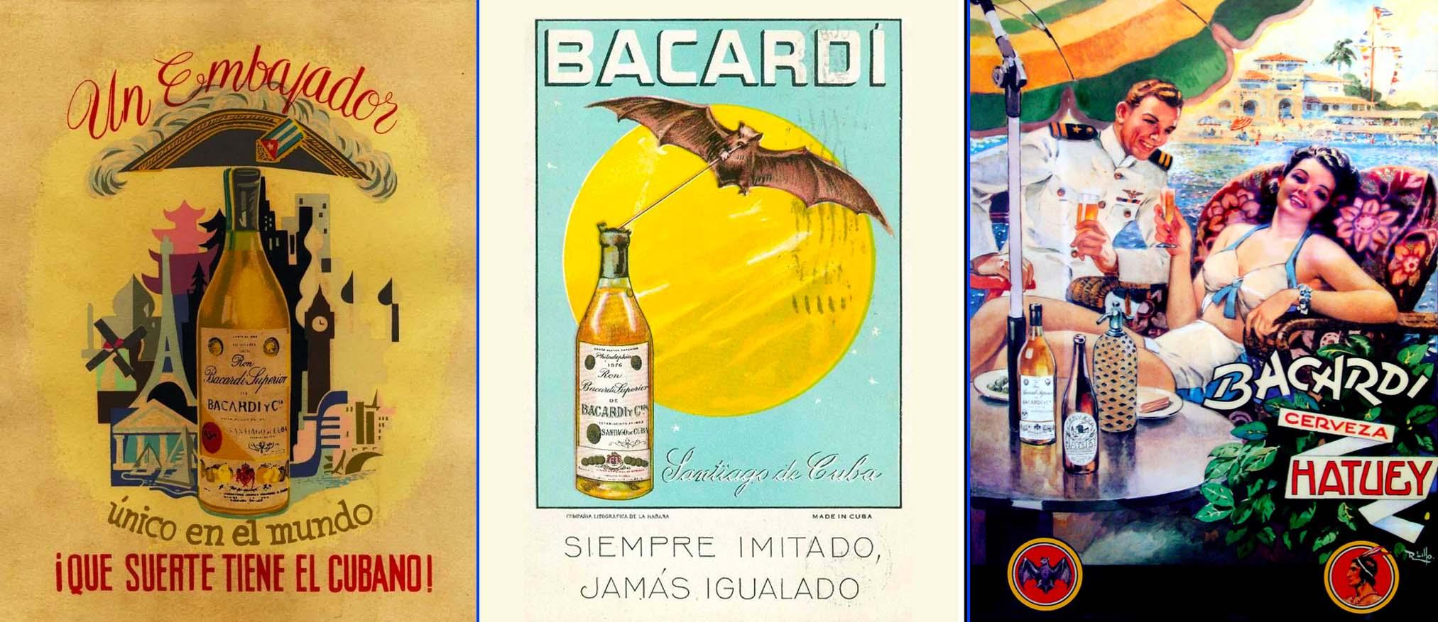 Primeras campañas publicitarias de Bacardí