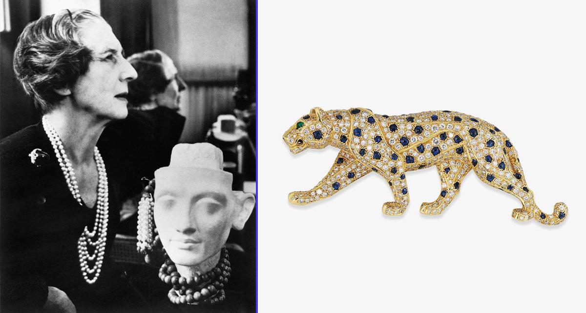 Jeanne Toussaint, inspiradora de la famosa pantera de Cartier