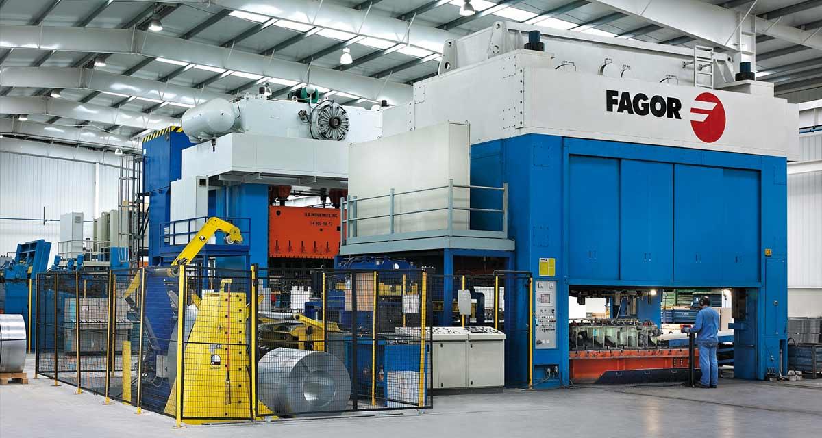 Parte del negocio de Fagor ha sido el diseño, la construcción y el mantenimiento de plantas de fabricación