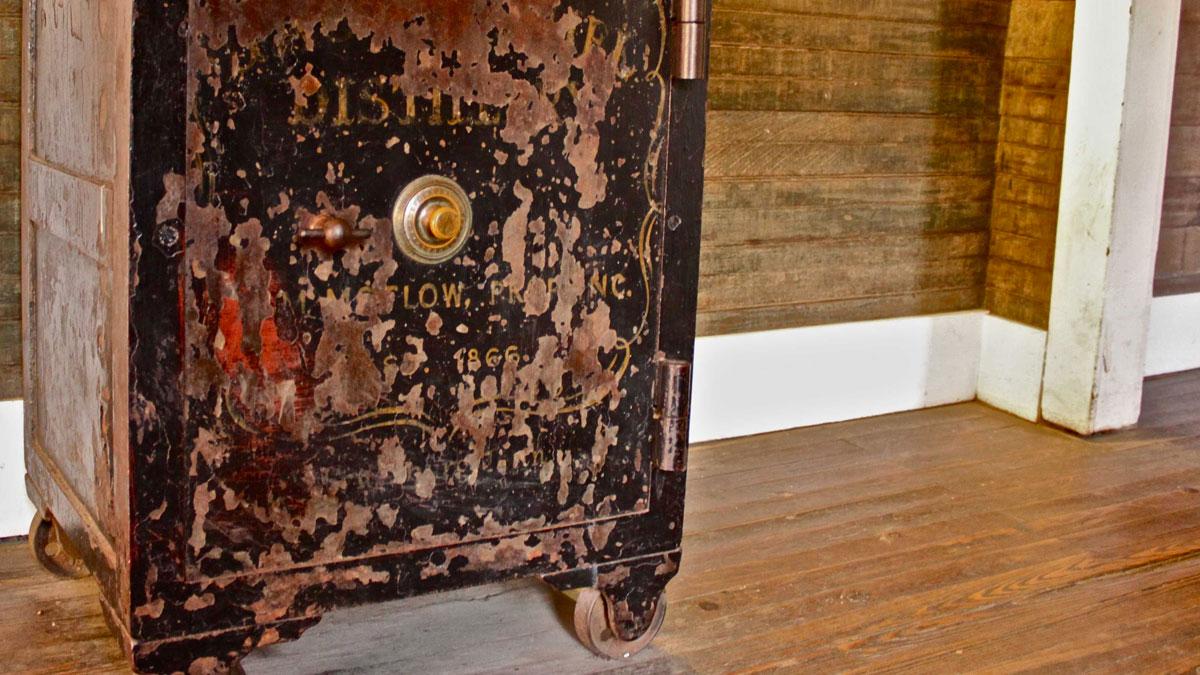 La caja-fuerte que terminó con Jack Danield