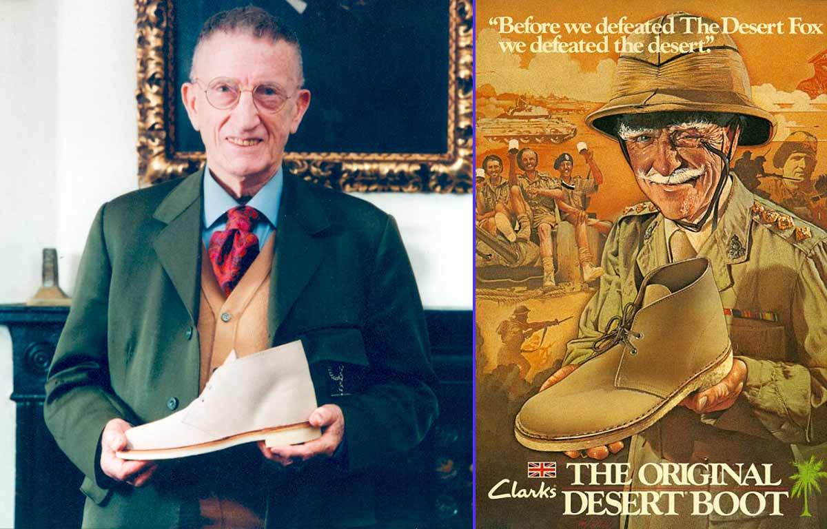 Nathan Clark, inventor de los Desert Boot - Campaña de publicidad