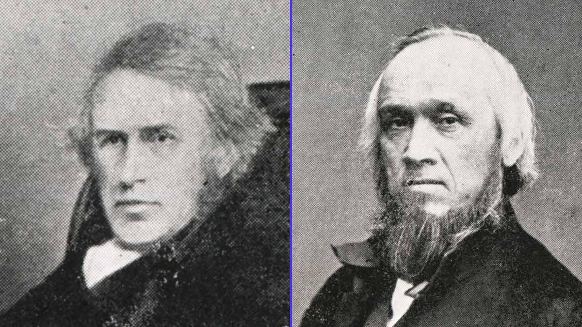 Cyrus y James Clark, fundadores de Clarks
