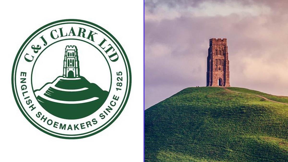 El símbolo de los zapatos Clarks viene de la Torre de Glastonbury