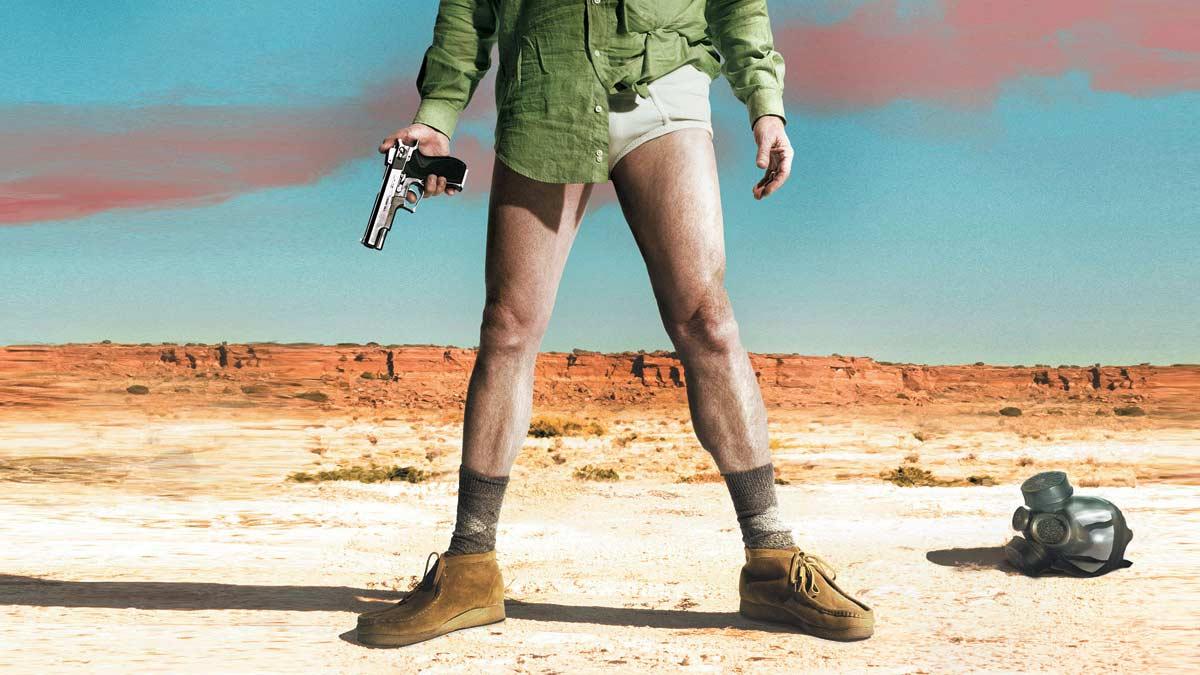 Walter White, protagonista de Breaking Bad, calza toda la serie unos Clarks Wallabees