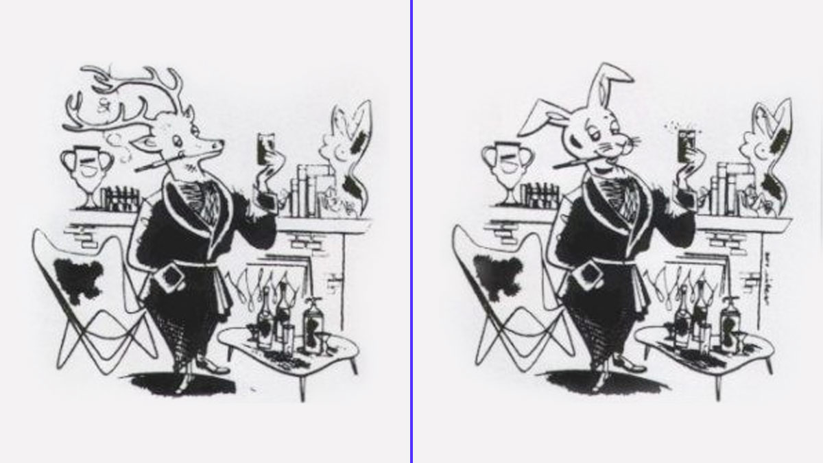 El conejo de Playboy originalmente era un ciervo, pero por problemas con el registro del naming pasó a ser un conejo