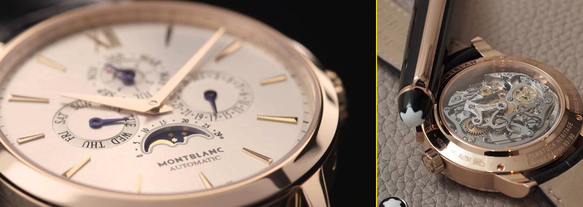 Primera línea de relojes de Montblanc basada en el buque insignia de la compañía, la famosa Meisterstück