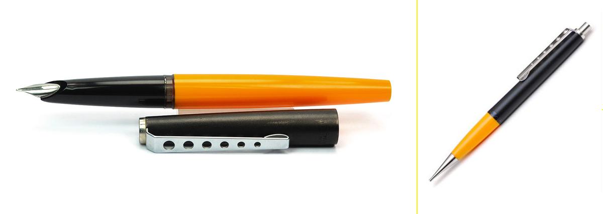 Serie Carrera, estilográfica, lapicero y bolígrafo