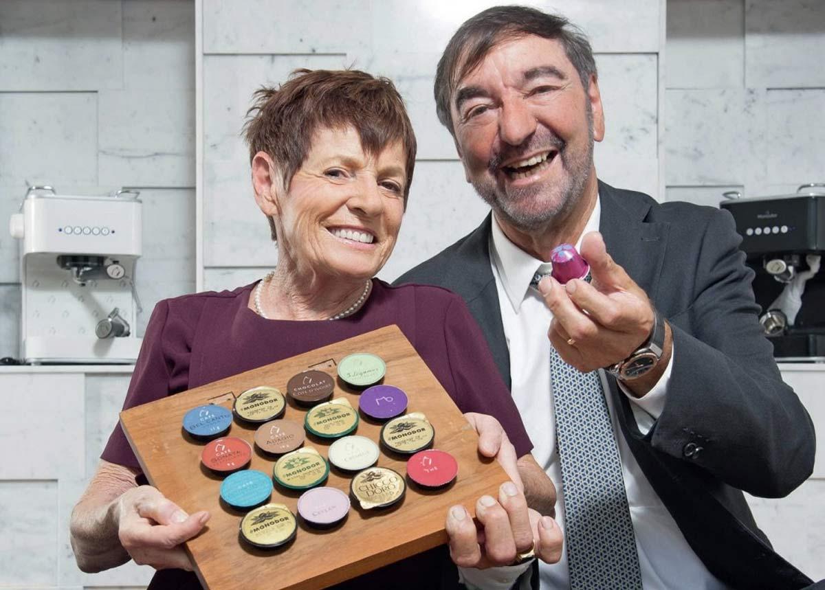 Anna-Maria y Eric Favre, el matrimonio del que surgió Nespresso