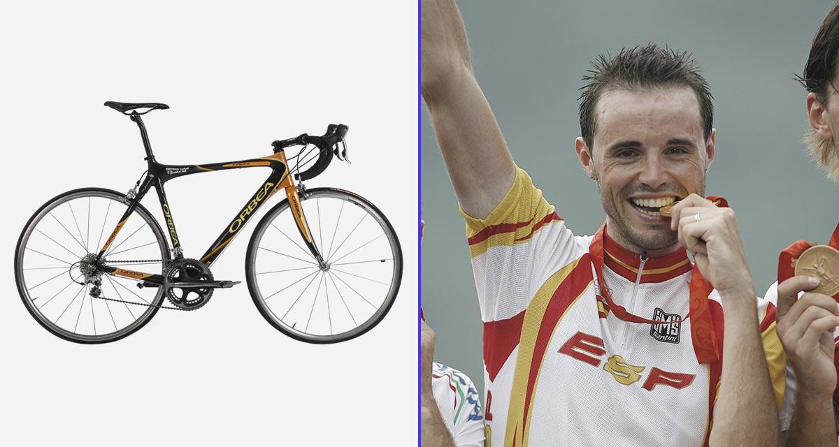 El cuadro Orca fue clave para la medalla de oro de Samuel Sánchez en los JJ.OO. de Pekín.