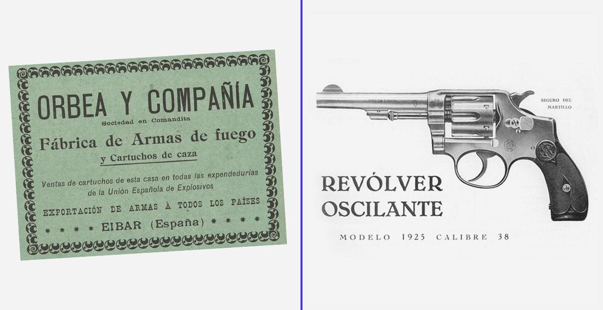 Orbea Hermanos introdujo en España el revólver Smith & Wesson