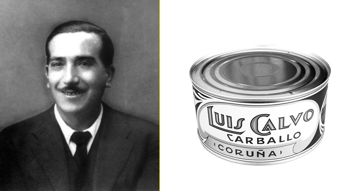 Luis Calvo, fundador de la conservera más importante de España