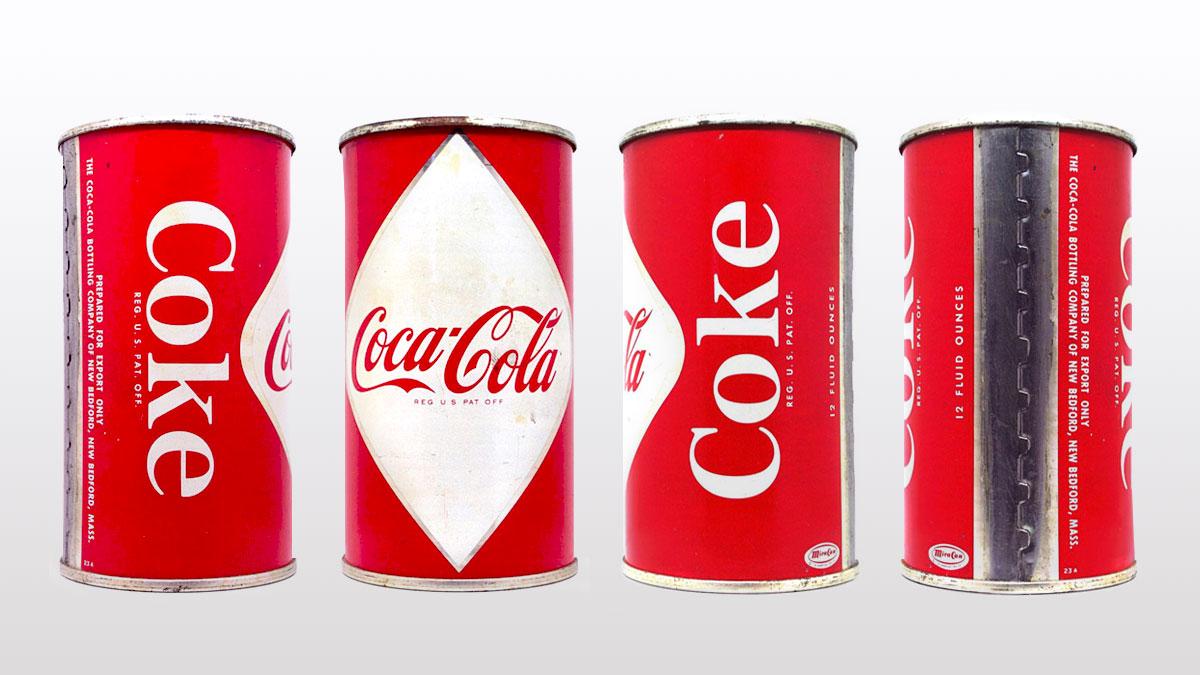 Primera lata de Coke (1955)