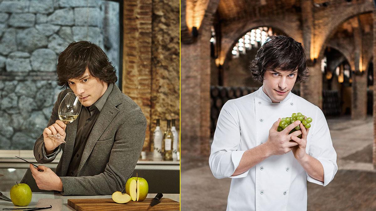 Uno de los prescriptores de la marca, el chef Jordi Cruz