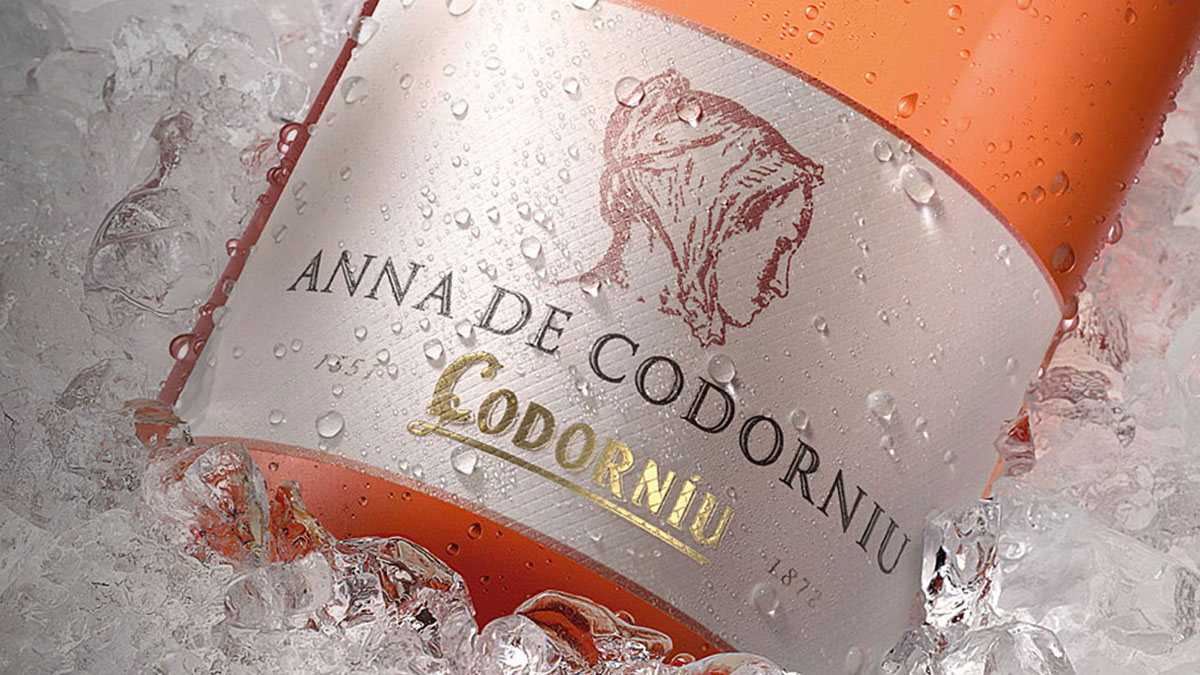Botella homenaje a Anna, último familiar con el apellido Codorniu
