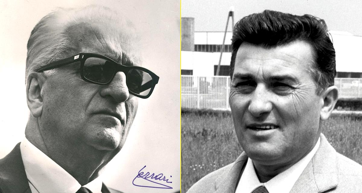 Lamborghini se fundó tras una afrenta de Enzo Ferrari a Ferruccio Lamborghini