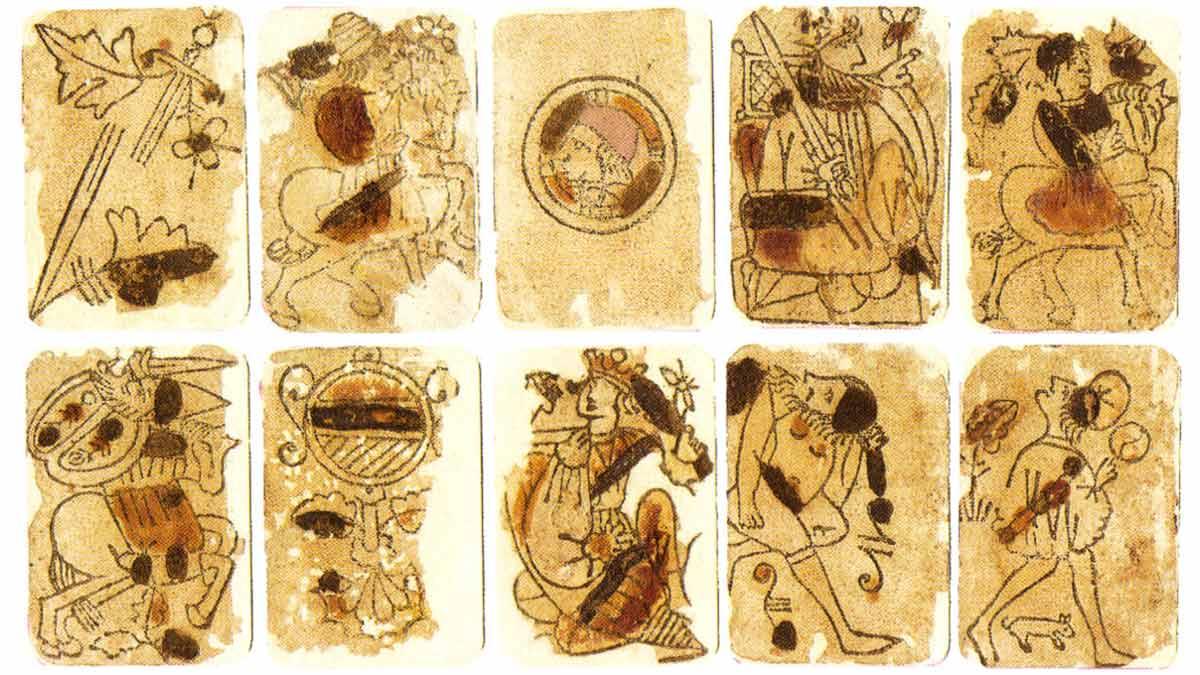 "Baraja española de origen ""morisco"" (1390)"