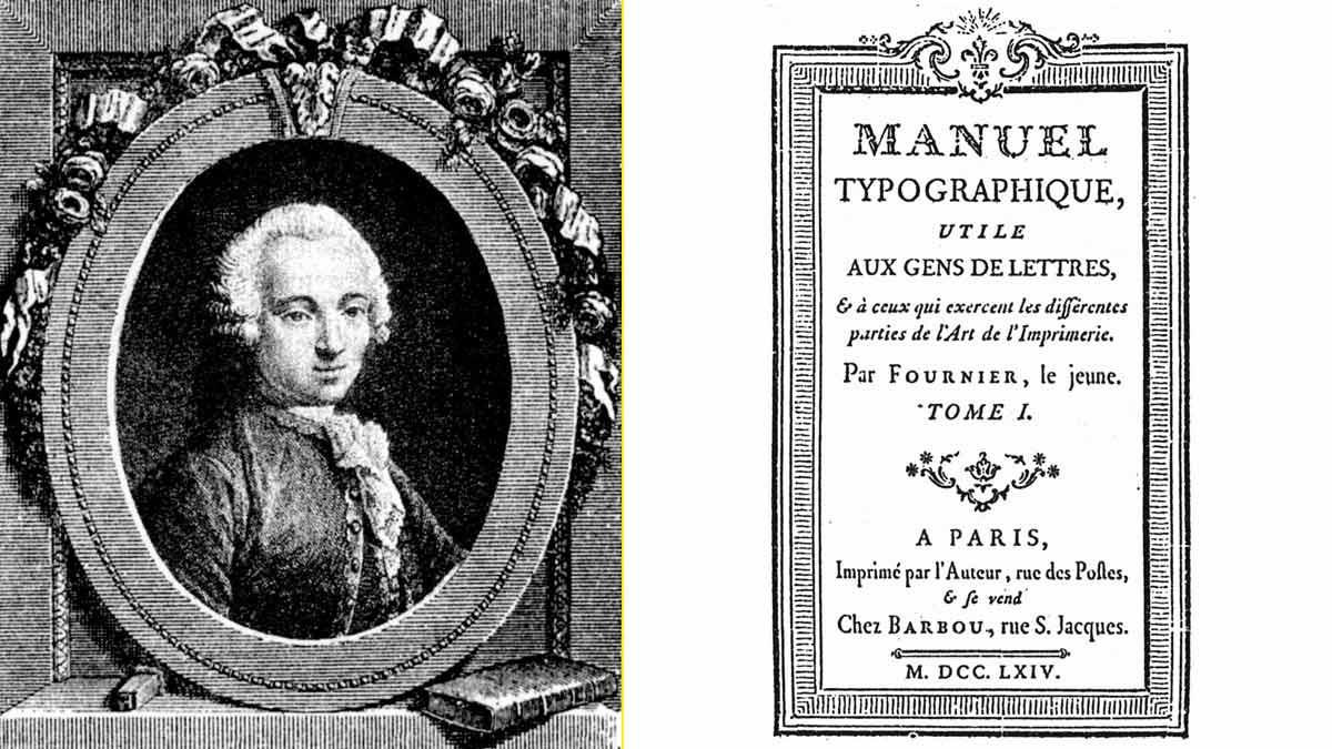 Pierre Simon Fournier. Tipógrafo que unificó las medidas de fundición de tipos y antepasado de la familia que fabrica actualmente naipes
