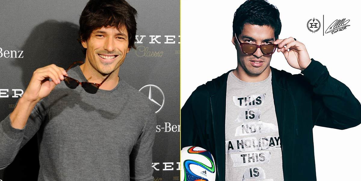Andrés Velencoso (modelo y actor) – Luis Suárez (futbolista)