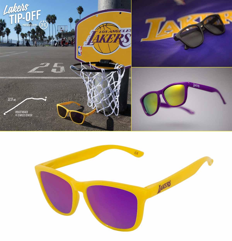 Modelo de Hawkers para el equipo de la NBA, Los Ángeles Lakers