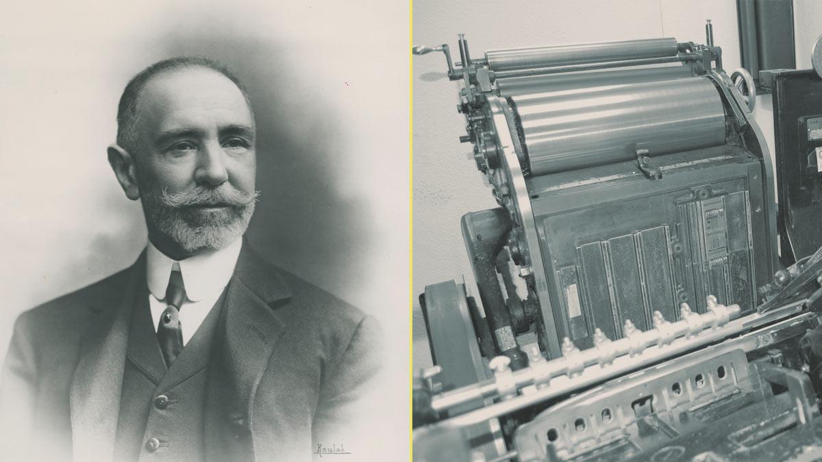 En 1868 Heraclio fundó Naipes Heraclio Fournier – Máquina Minerva con la que editó su primera baraja de cartas
