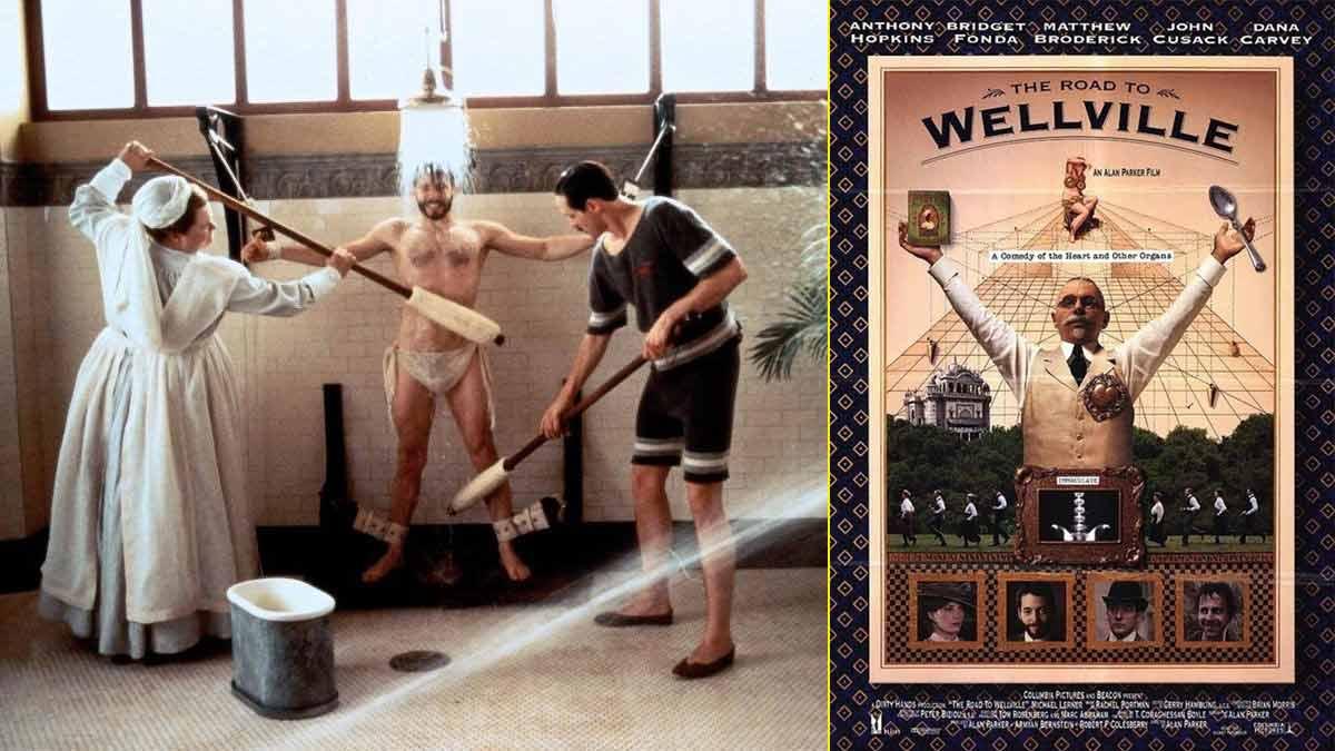 "Imágenes de la película ""El balneario de Battle Creek"", sobre la historia de John Kellogg"