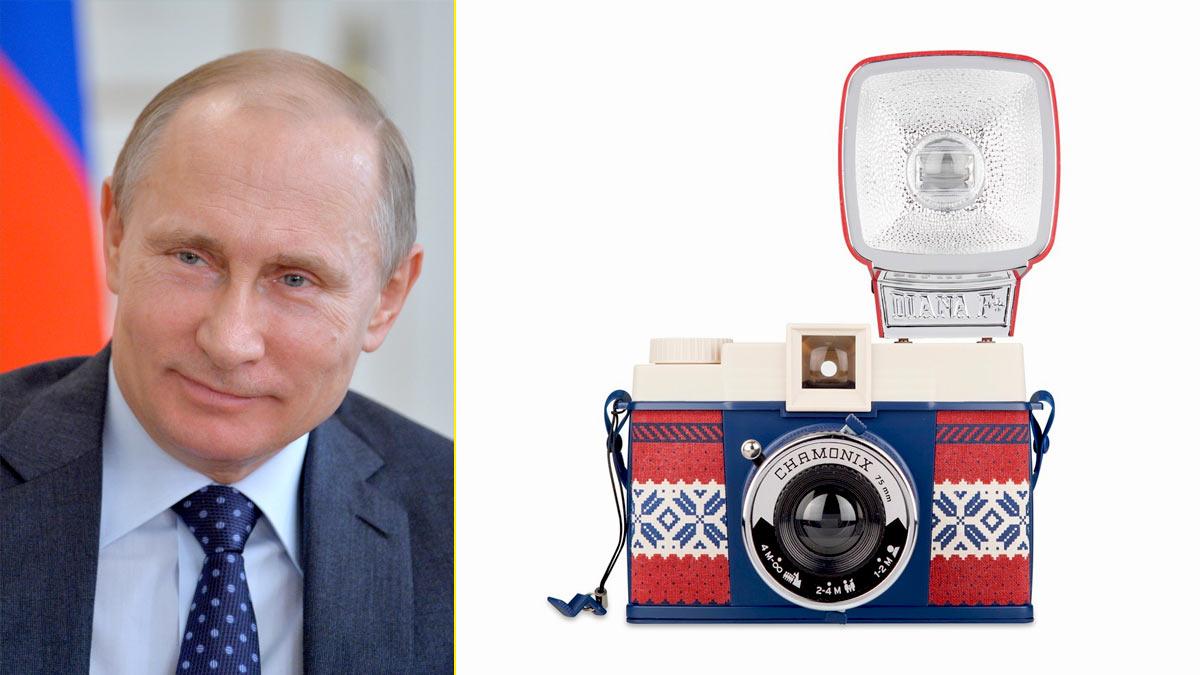 Vladímir Putin consiguió que reanudaran la fabricación de cámaras LOMO en Rusia