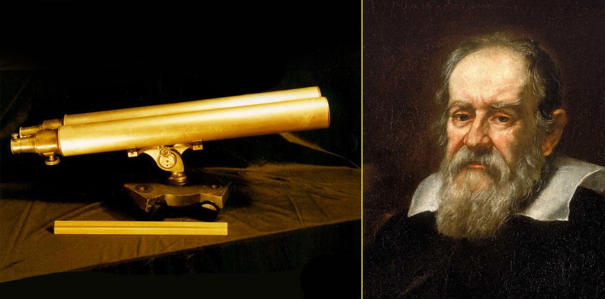 J. F. Voigtlander construyó y patentó el primer telescopio binocular ideado por Galileo (1815)