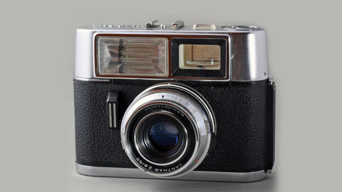 Vitrona es considerada la primera cámara compacta con flash incorporado