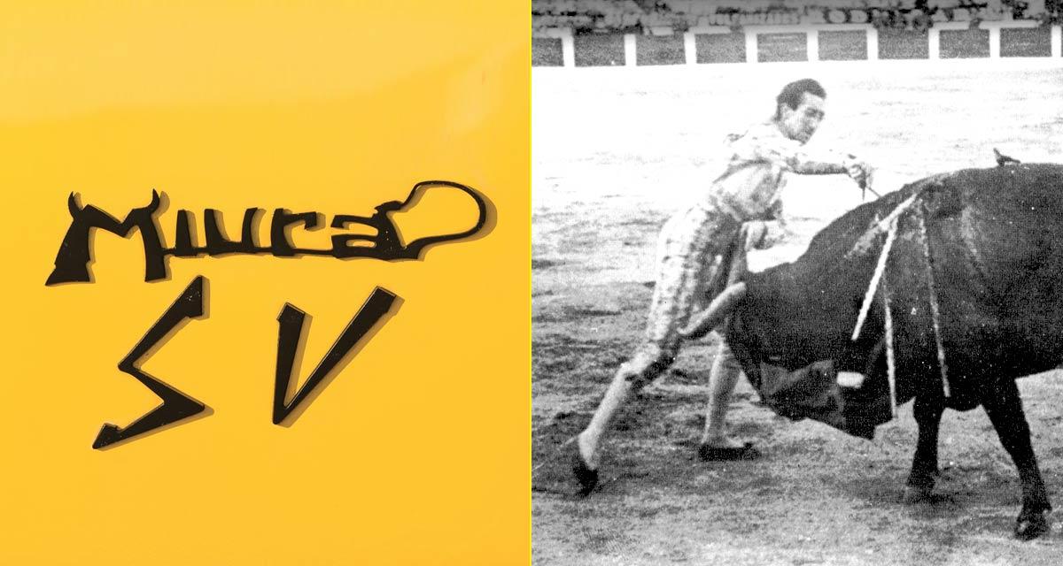 Logotipo del Lamborghini Miura – Cornada mortal de Manolete (1947)