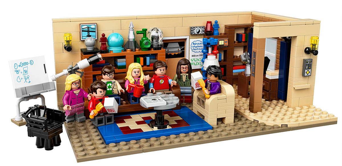 Edición de LEGO para la serie de TV Big Bang Theory