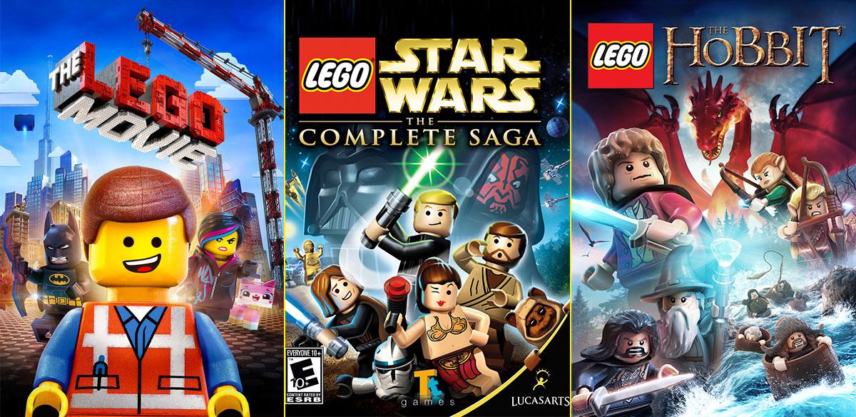 Película de LEGO - Videojuego de Star Wars - Videojuego de El Hobbit