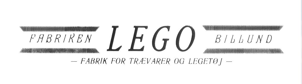 Primer logotipo de LEGO (1934)