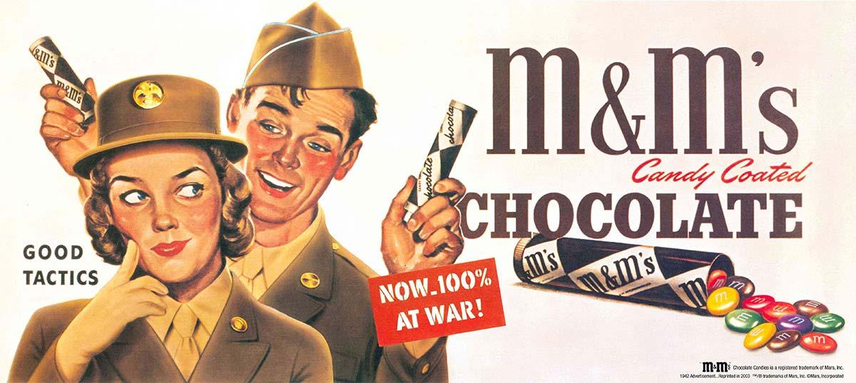 El origen de los M&M's está en los soldados que combatieron en la Guerra Civil Española