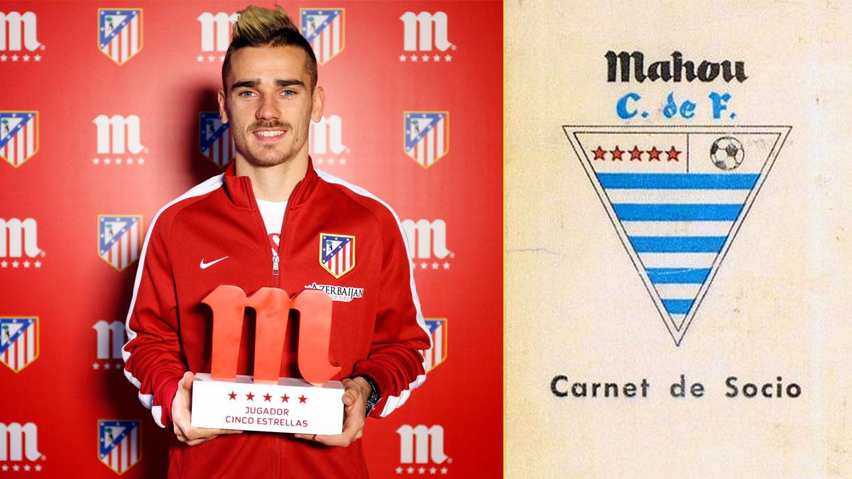 Antoine Griezmann – Escudo del Mahou Club de Fútbol