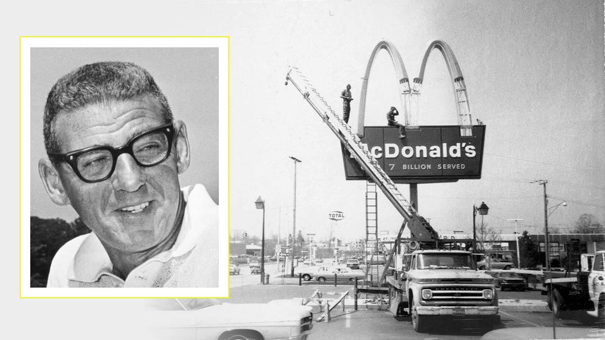 """Harry Sonnenborne: """"El negocio no eran las hamburguesas sino el terreno donde se cocinaban"""""""