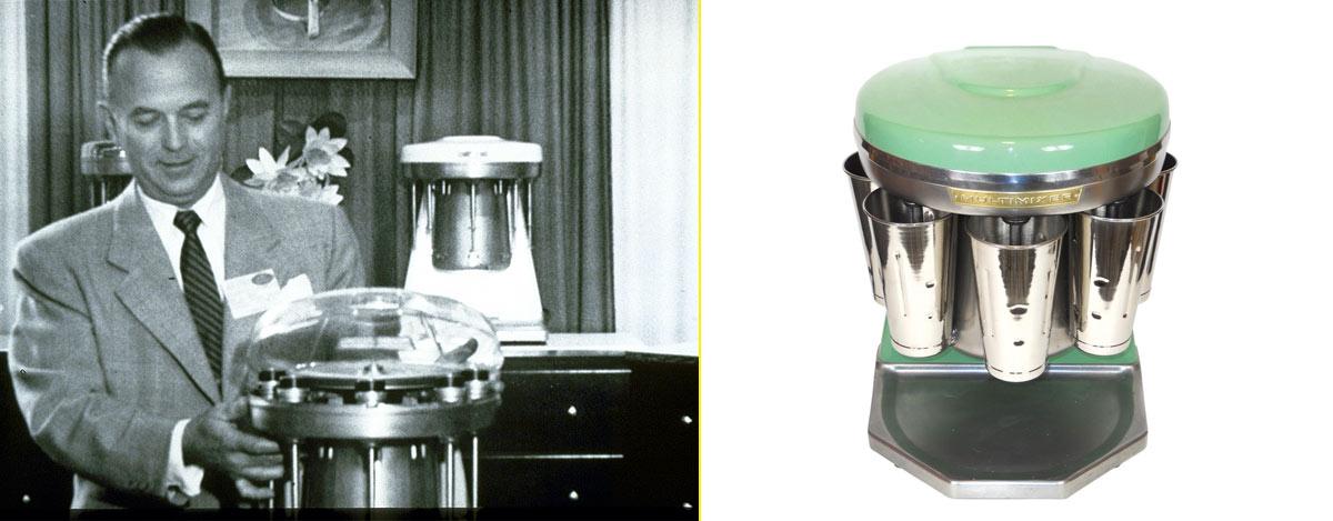 Ray Kroc, fundador de McDonald's, empezó vendiendo máquinas para mezclar batidos