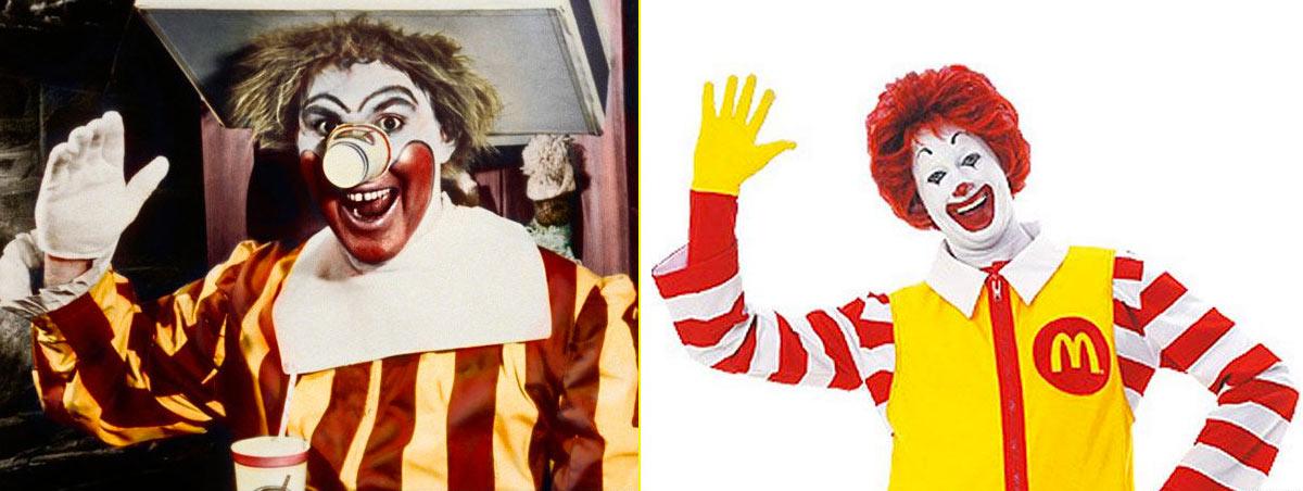 En 1963 Willard Scott creó al personaje Ronald McDonald