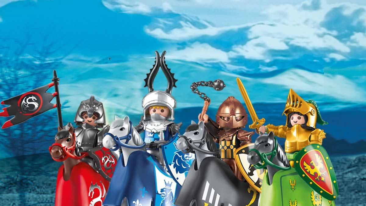 Evolución de los caballeros de Playmobil en la actualidad
