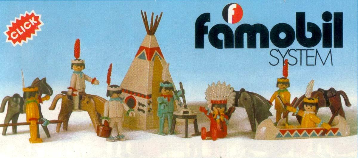 Famosa se hizo con los derechos de Playmobil en España y creó Famobil