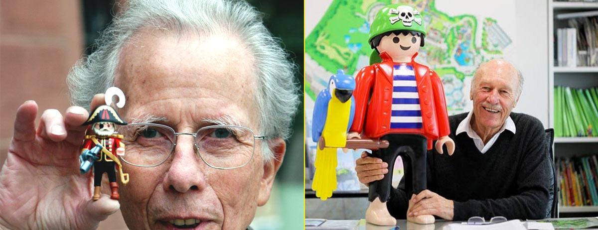 Hans Beck, creador de los Playmobil – Horst Brandstätter, mítico presidente de la compañía
