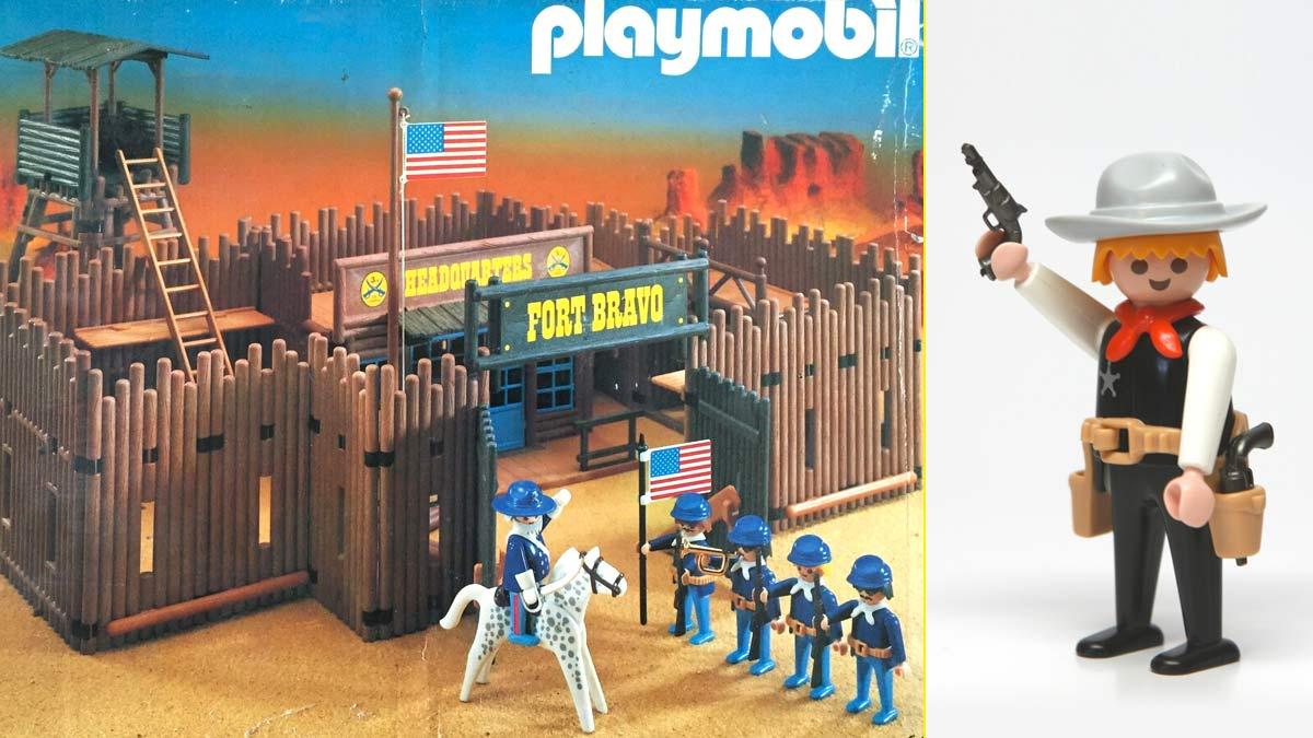 Fort Bravo de Playmobil – Vaquero
