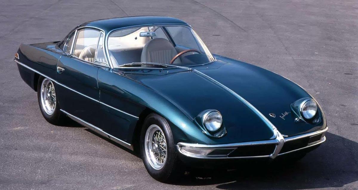 El primer coche fabricado por Lamborghini fue el 350 GTV (1963)