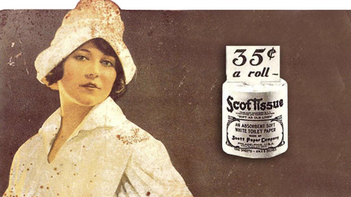 Scott Paper Company inventó el papel sanitario en rollo (1880)