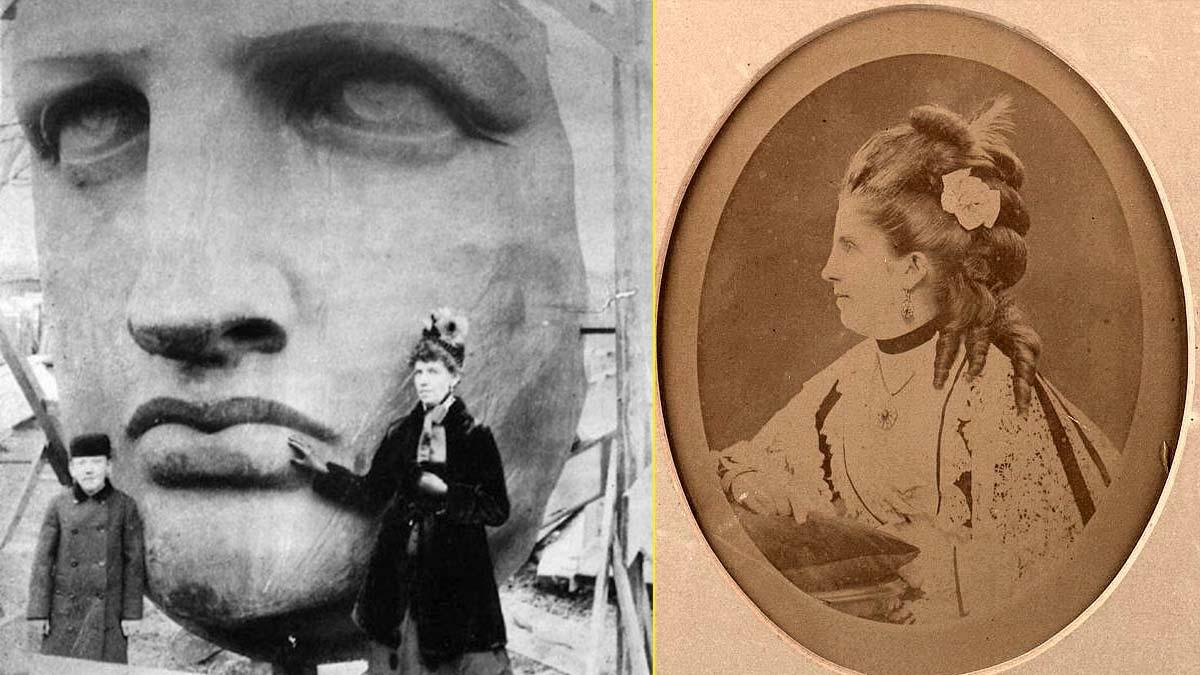 Se dice que la Estatua de la Libertad está inspirada en la viuda de Singer