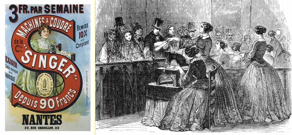 La compañía inició su expansión internacional gracias a su presencia en la Exposición Universal de París de 1855