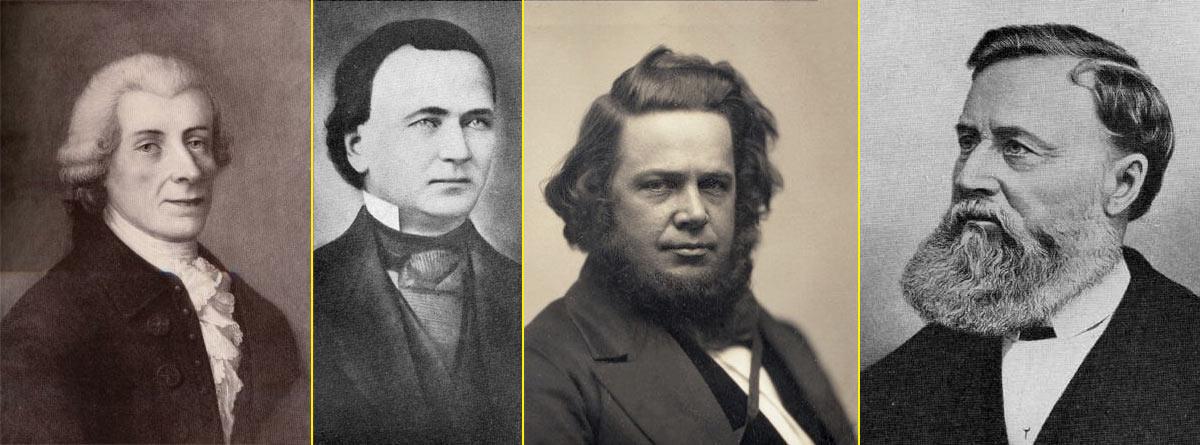 Estos son los inventores de la máquina de coser: Wiesenthal – Hunt – Howe – Singer