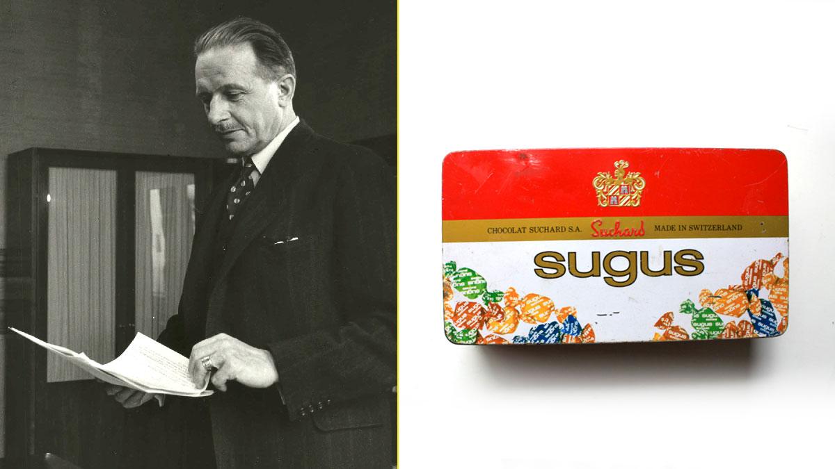 Hans-Conrad Lichti descubrió la receta de los Sugus en Cracovia y la compró por 500$